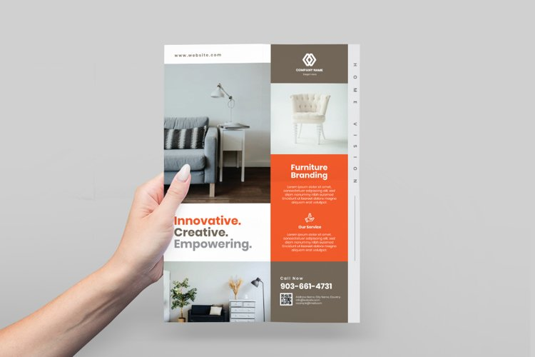 Furniture Store Flyer Design example image 1