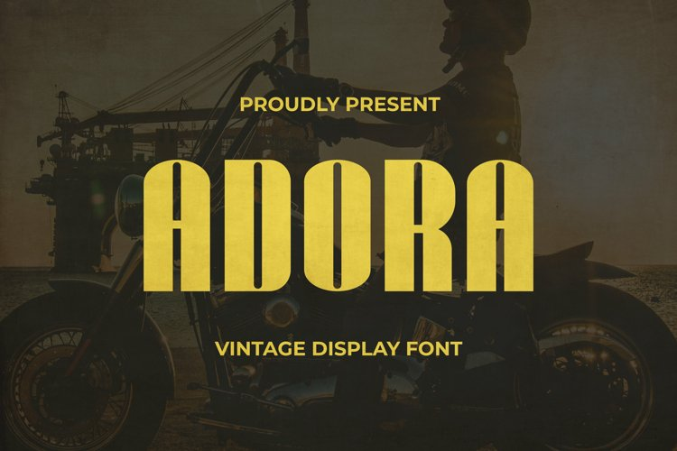 Adora Font example image 1