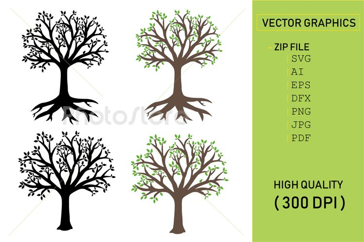 Vector tree example image 1