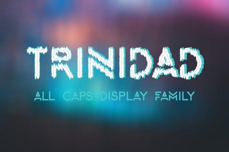 TRINIDAD all caps example image 1