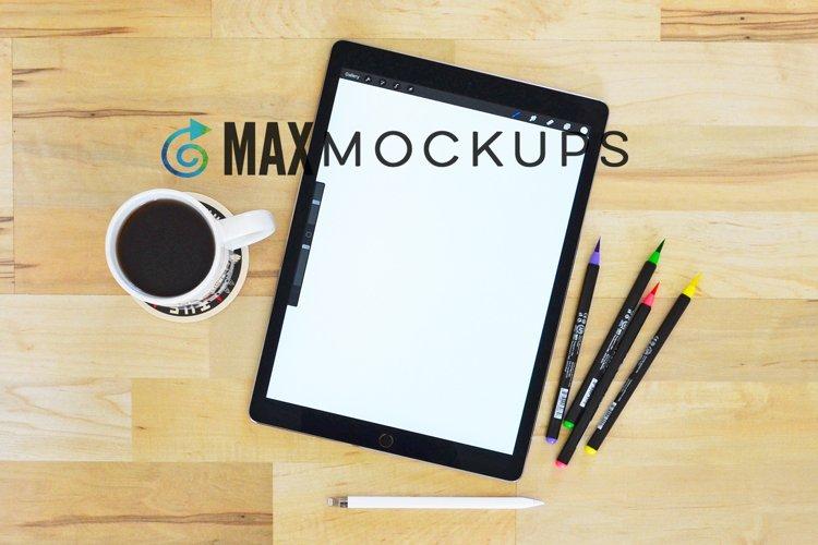 IPad Mockup, watercolor pens, crafters, Procreate designers