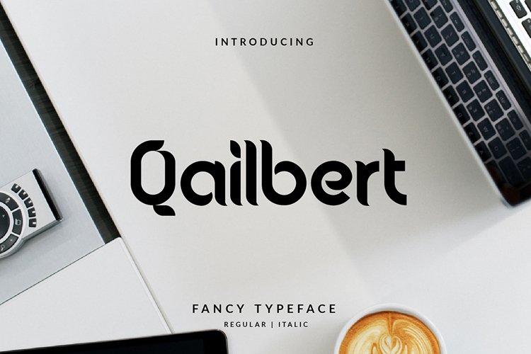 Qailbert Typeface