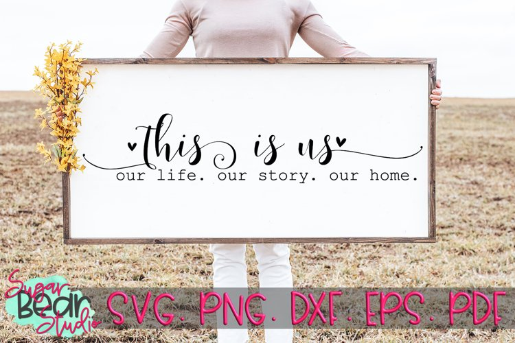 This Is Us - A Quote SVG example image 1