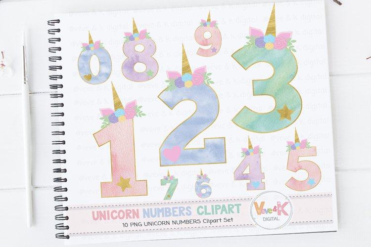 Unicorn Numbers, Unicorn Numbers Clipart, Numbers Clipart, Unicorn Clipart, Unicorn Graphics, Unicorn Baby Shower, Unicorn Birthday