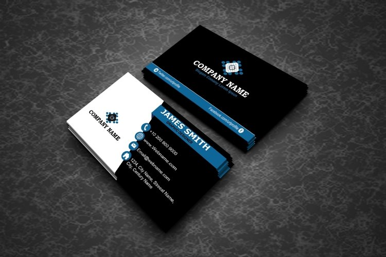 Creative Modern Business Cards example image 1
