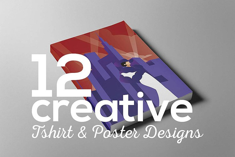 Creative poster t-shirt designs example image 1