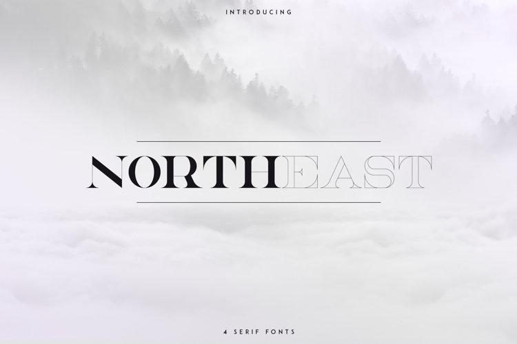 NorthEast - 4 serif fonts example image 1