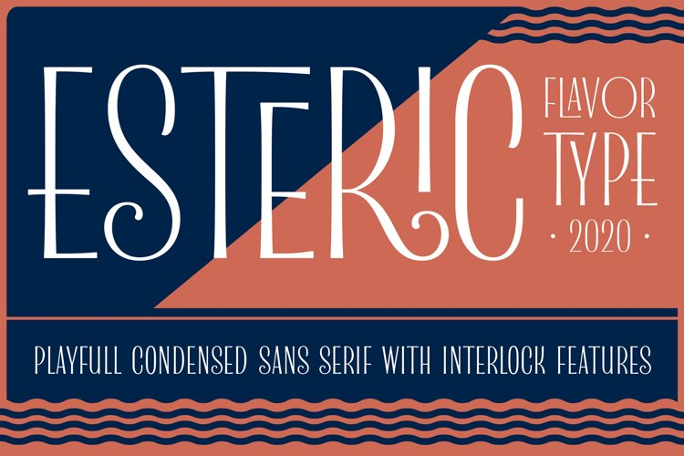 Esteric Playful Sans Serif example image 1