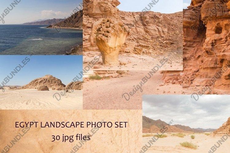 Egypt, the Sinai Peninsula, landscapes photo set. example image 1