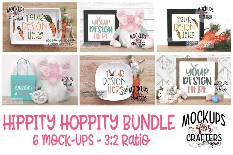 HIPPITY HOPPITY BUNDLE - 6 MOCK-UPS
