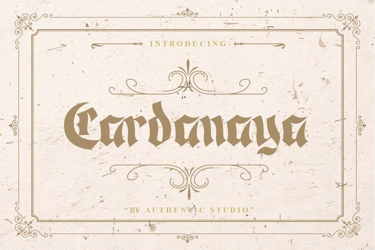 Cardanaya Blackletter example image 1