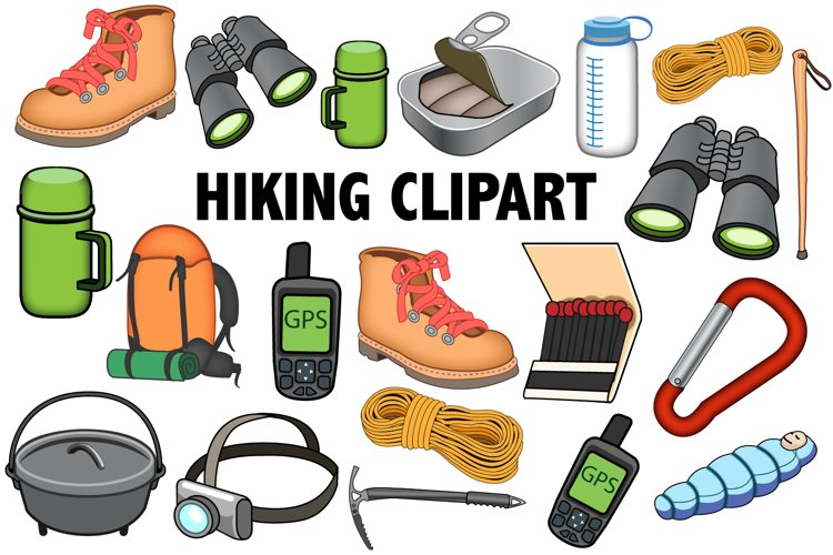 Hiking Clipart example image 1