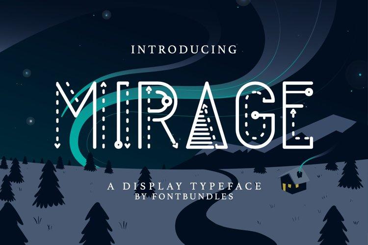 Web Font Mirage example image 1
