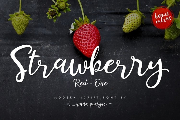 STRAWBERRY RED ONE example image 1