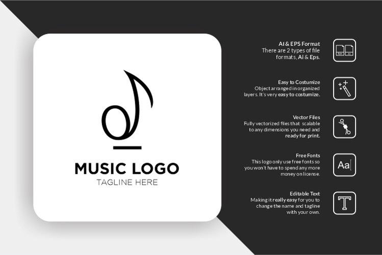 Music Instrument Logo