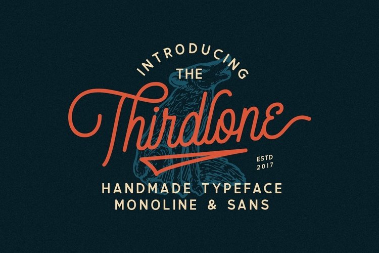 Thirdlone - Font Duo example image 1