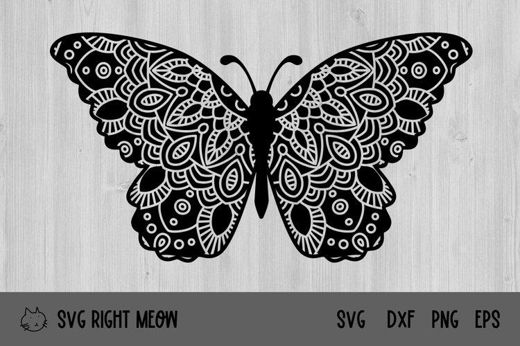 Butterfly SVG Butterfly Mandala Cut File
