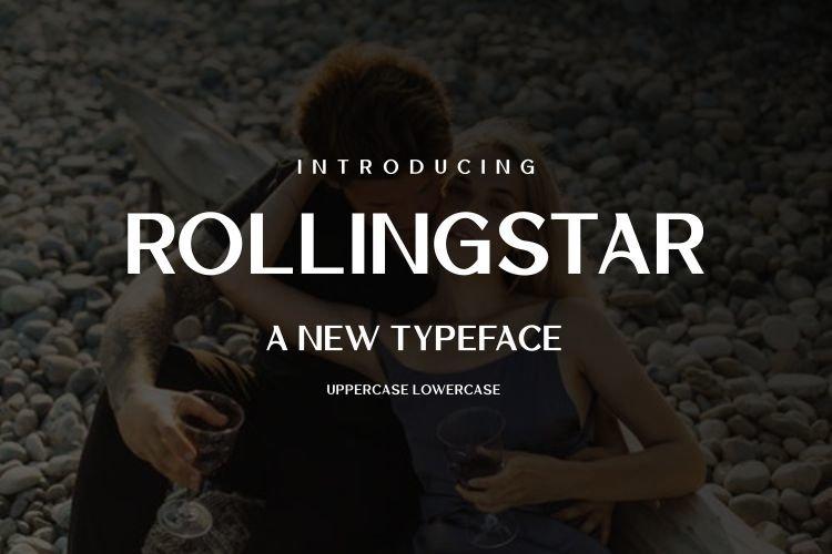 Rollingstar Sans Serif Font