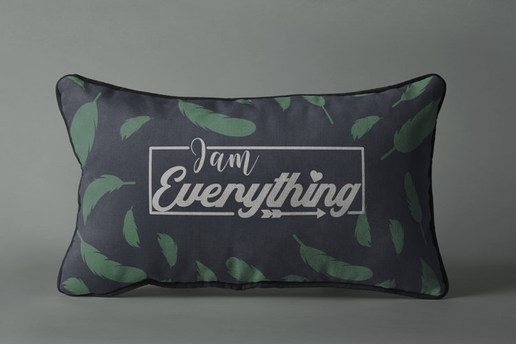 I am Everything. Svg quote example image 1
