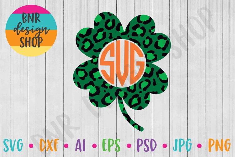Shamrock Monogram Svg St Patrick S Day Svg Svg File 421652 Svgs Design Bundles
