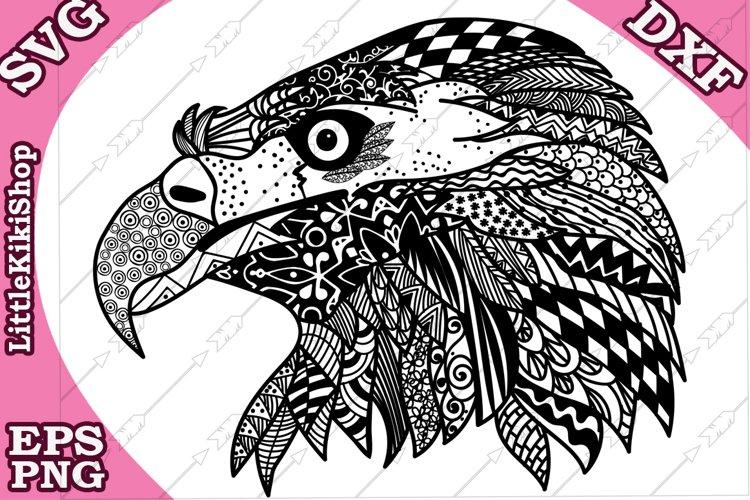 Eagle Svg,MANDALA EAGLE SVG,Cricut Svg file,Zentangle Svg