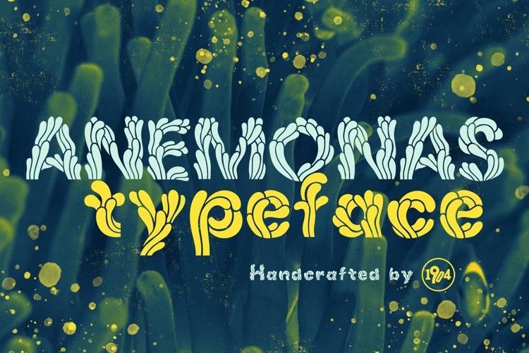 Anemonas Typeface