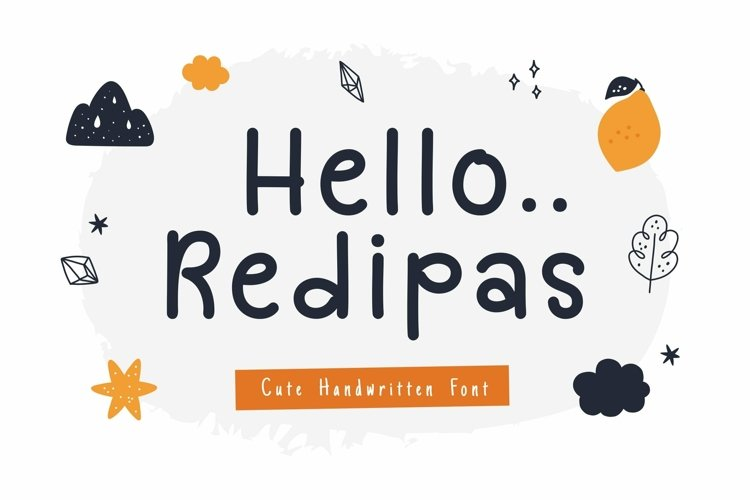 Web Font Redipas Font example image 1