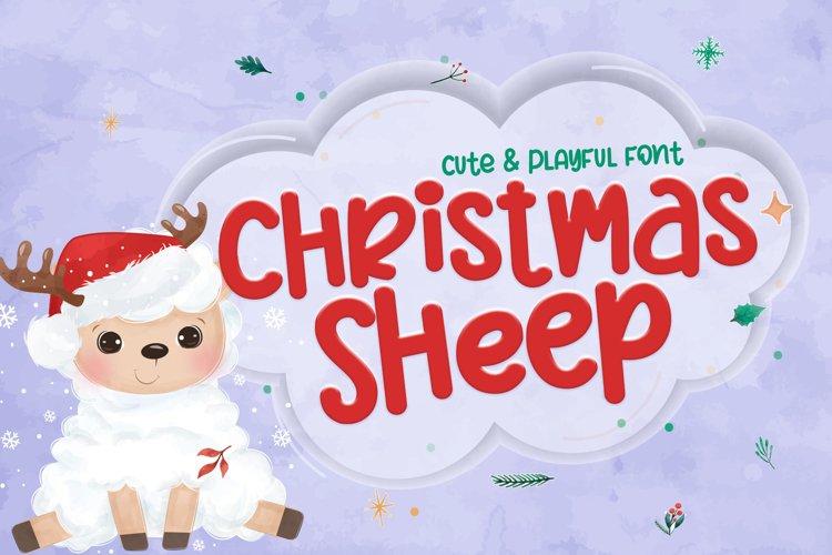 Christmas Sheep example image 1