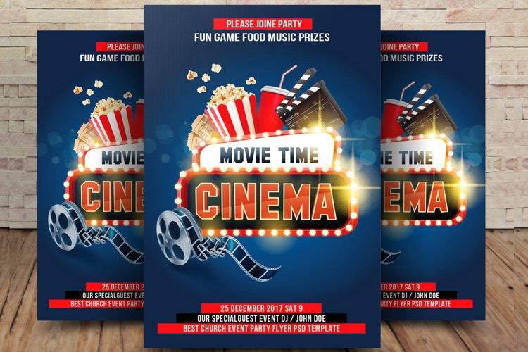 Cinema Movie Flyer example image 1