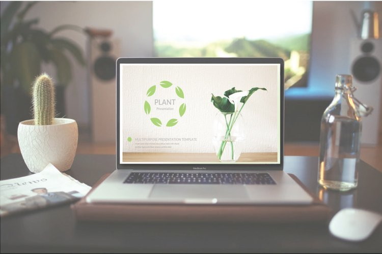 Plant Keynote Template example image 1