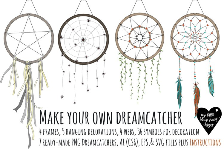 Make your own dreamcatcher example image 1