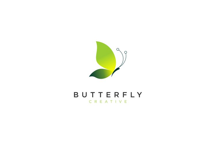 Colorful Butterfly Logo example image 1