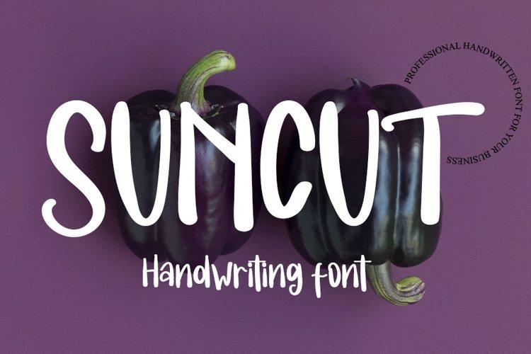 Suncut - Fresh Cute Handwritten Font example image 1