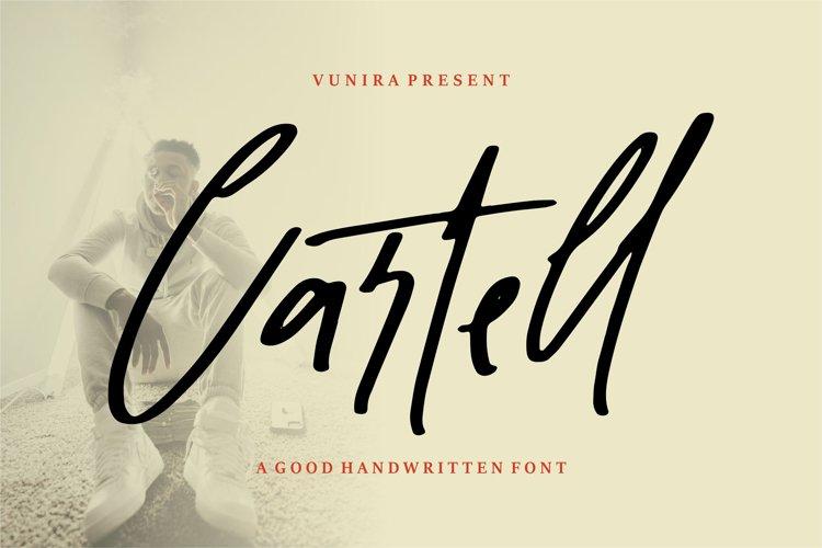 Cartel   Script Handwritten Font example image 1