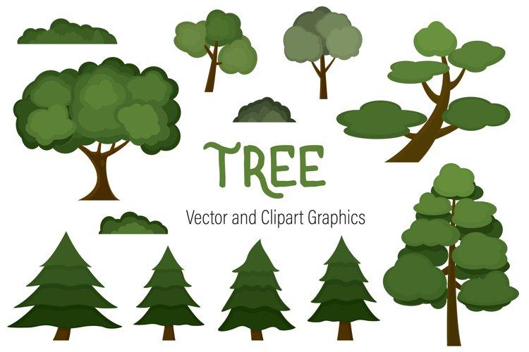 Tree graphics set