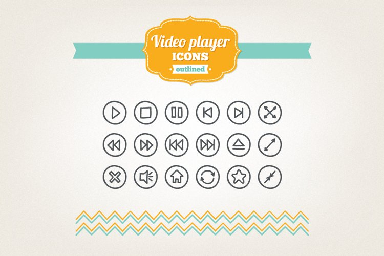 Hand Drawn Player Icons example image 1