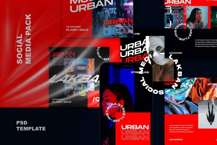 Urban - Feed & Stories Instagram Template