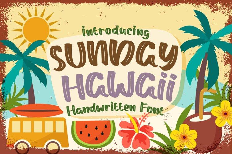 Sunday Hawaii example image 1