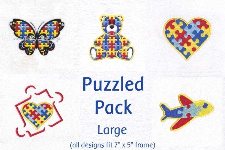 Puzzle Theme Puzzled Detail Size Large (fits 5