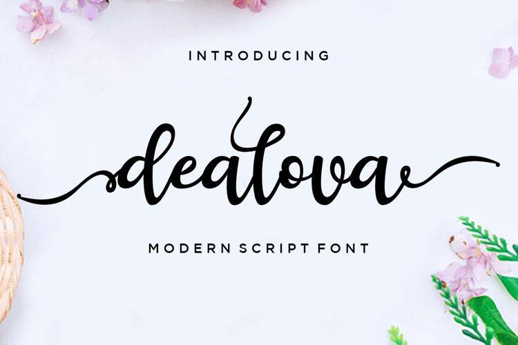 dealova script example image 1