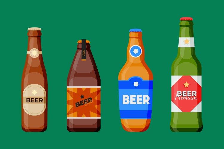 Beer Bottle Illustrations