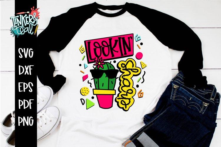 Lookin Sharp Cactus Girl SVG example image 1