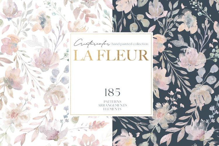 LaFleur - Watercolor Floral Collection