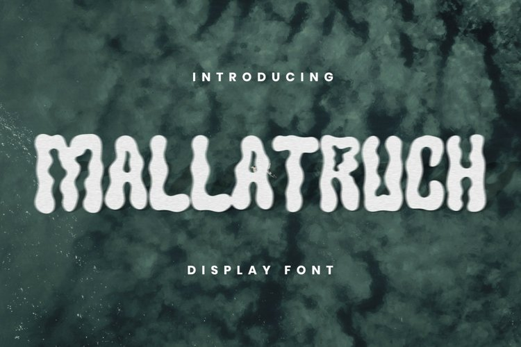 MALLATRUCH Font example image 1