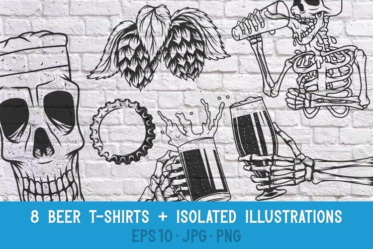 8 Beer T-shirts