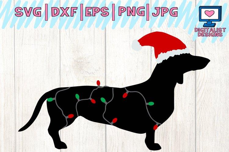 dachshund svg, dog svg, winter svg, christmas svg