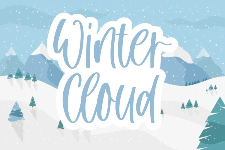 Winter Cloud example image 1