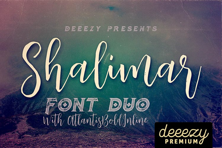 Shalimar Font Duo example image 1
