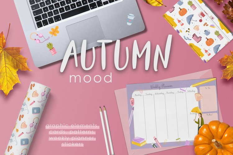 Autumn Mood. Graphic Collection example image 1