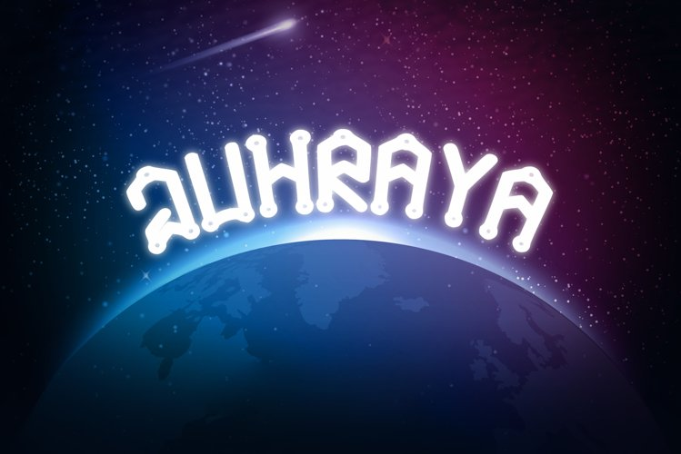 Juhraya Sci Fi Font example image 1